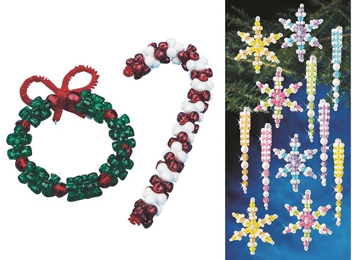 beaded ornaments holidays