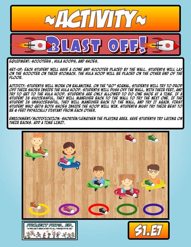 blastoff activity PE
