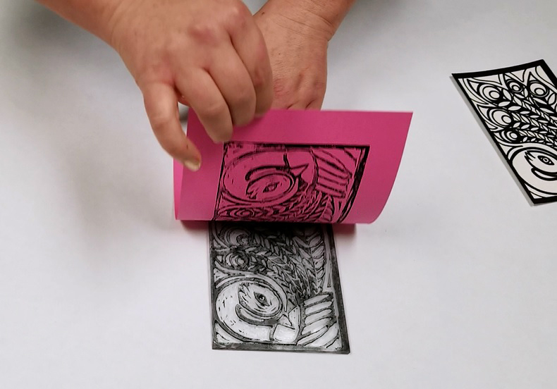 block printing stamp