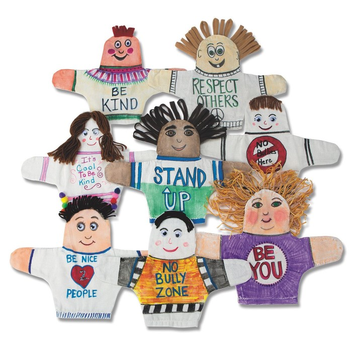 bully prevention puppets