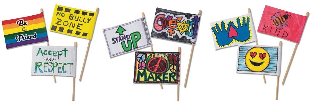 bullying prevention flag