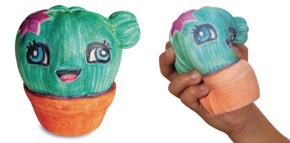 cactus squishy toy craft