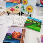 Canvas Board Designs For Painting & Coloring