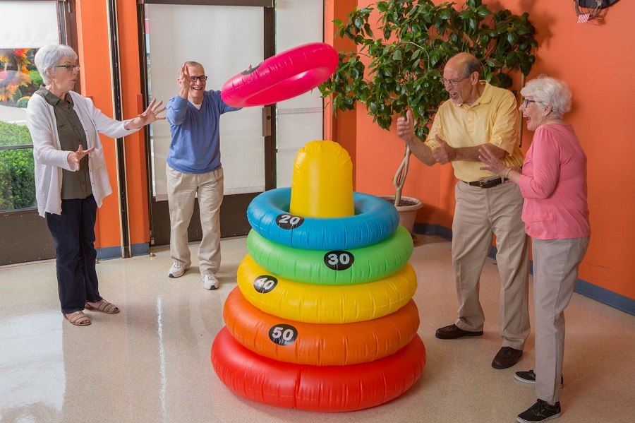 carnival theme senior facility