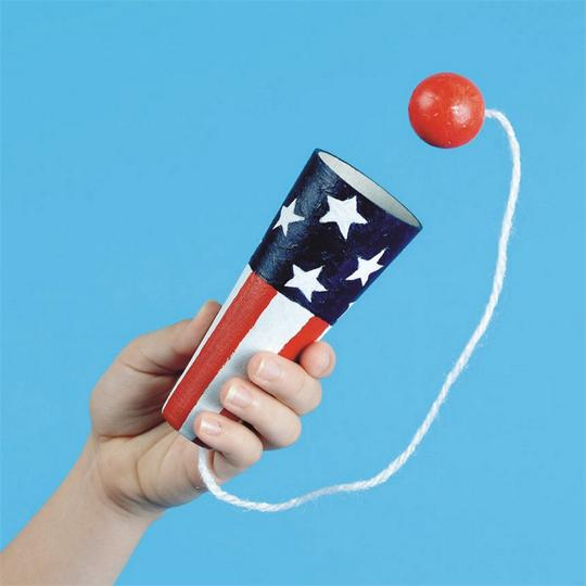 Fourth of July craft cones
