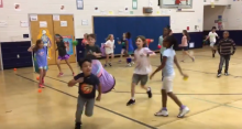 catch me if you can PE activity