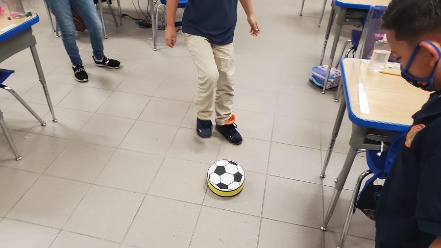 classroom soccer activity