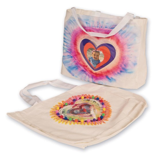 color me heart bag