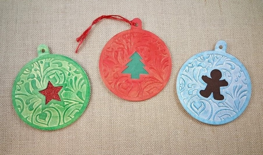 color me ornaments