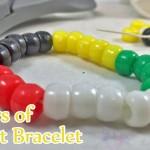 Colors of Christ Bracelet – Religious Craft Activity