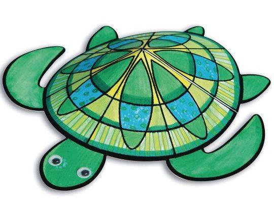 complete velvet art 3d turtle