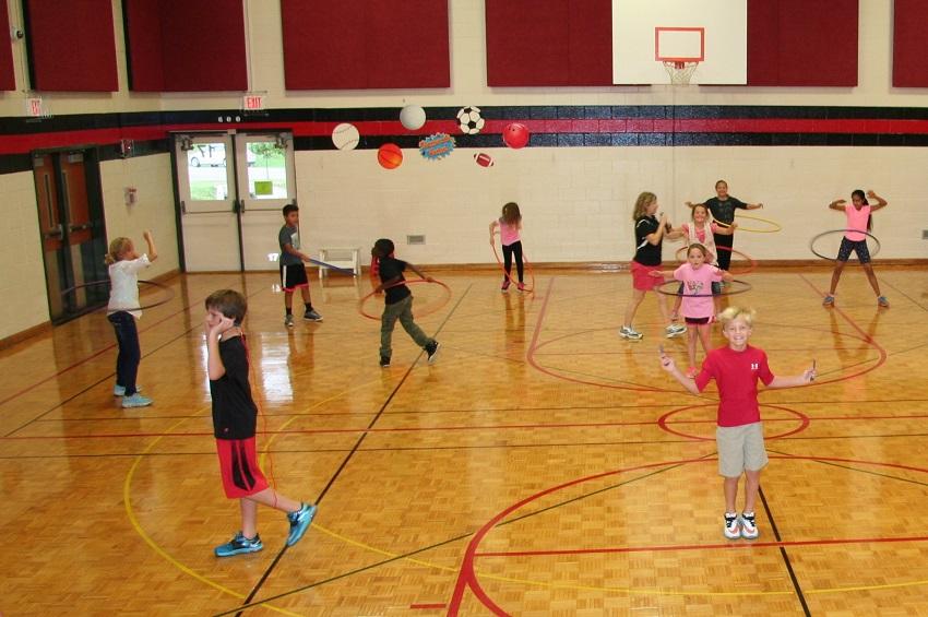 PE cooperative fitness challenge