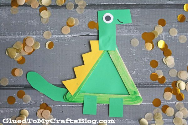 craft stick dinosaur craft