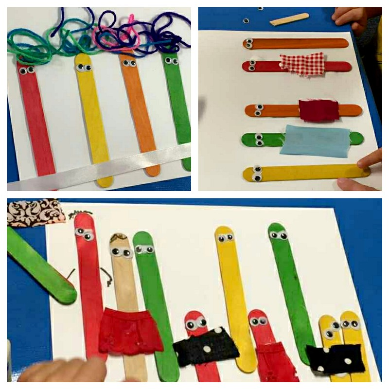 craft stick families