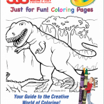 FREE Coloring Pages for Kids – Dinosaur Themed & Stand-Up Animal Shapes