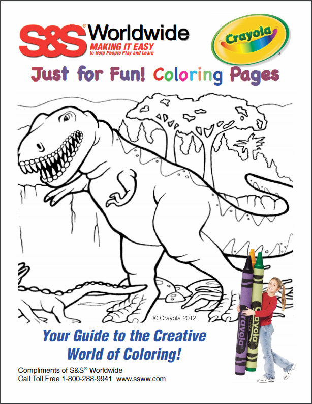 crayola coloring pages kids