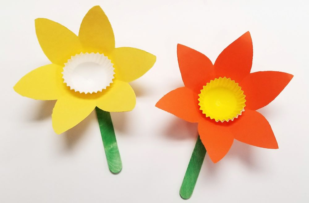 daffodil diy craft