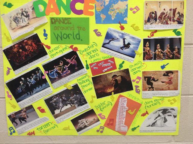 physed dance board