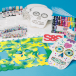 Day of the Dead Craft Activities – Sugar Skulls & Banderas