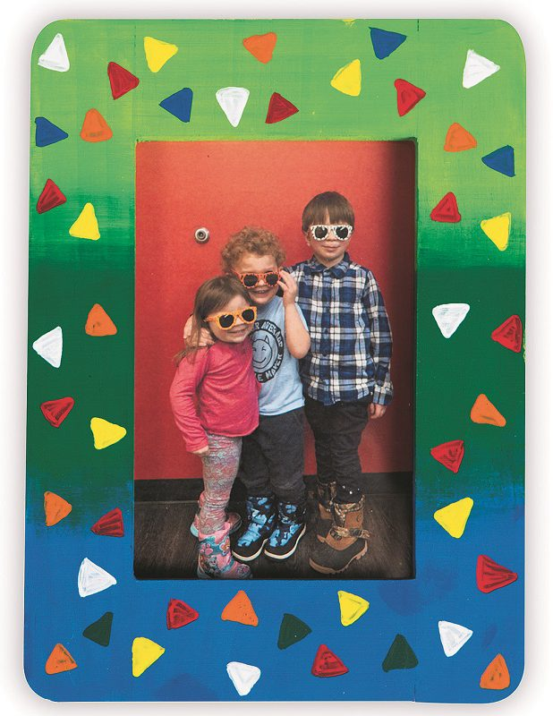 Diy Wood Frame Craft For Kids S S Blog