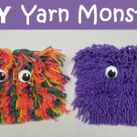 How to Make DIY Yarn Monster Bags
