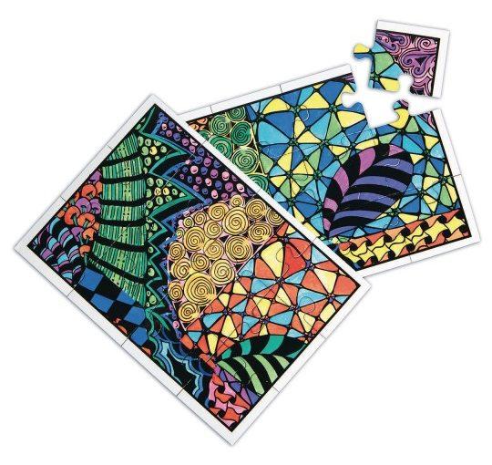 doodle puzzle craft