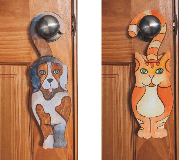 doorknob pet crafts