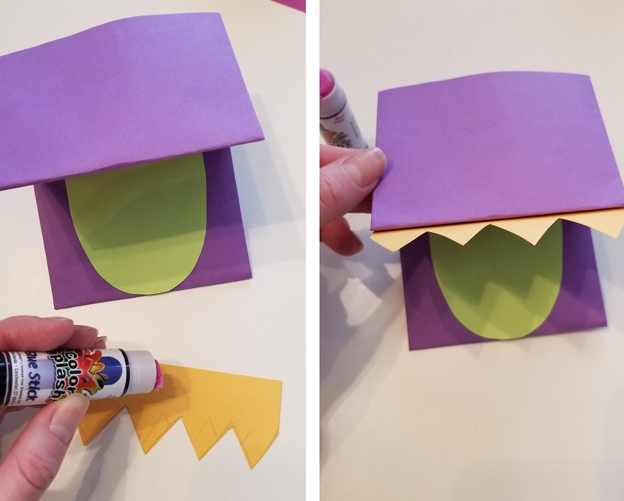 diy paper craft dragon