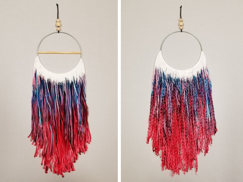 dream catcher macrame craft