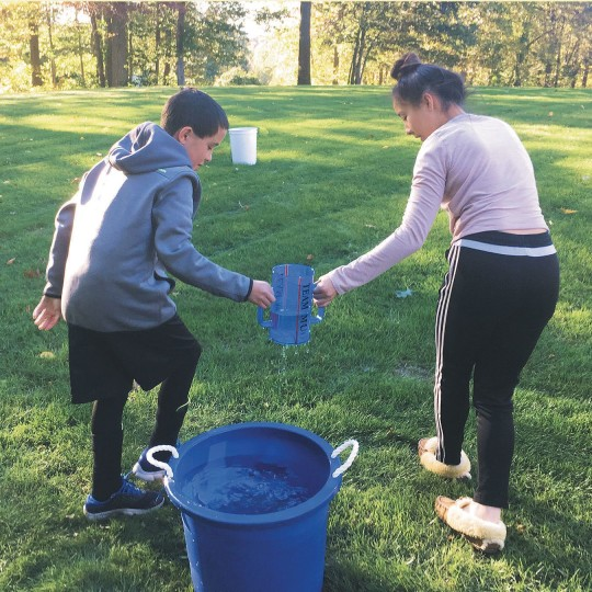 earth day water saving activity