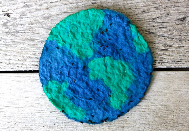 earth day seed craft