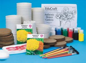 educraft marigold flower garden