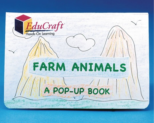 farm animals pop up book