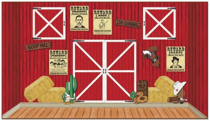 farm western theme