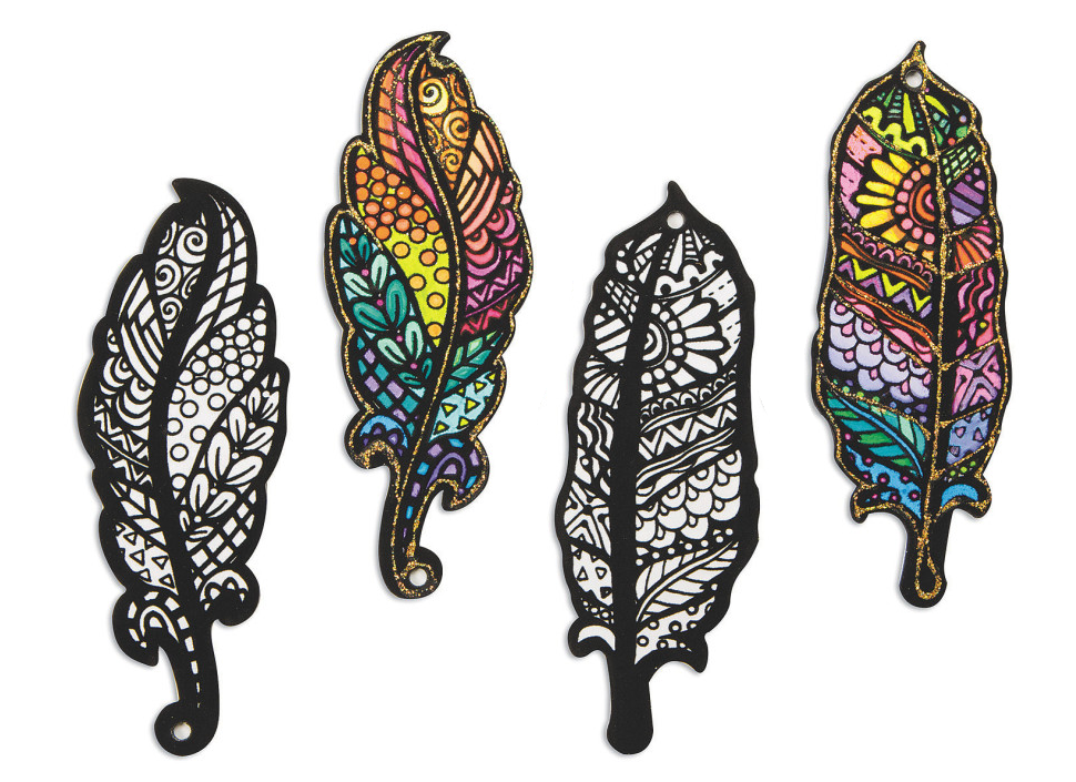 feather ornaments