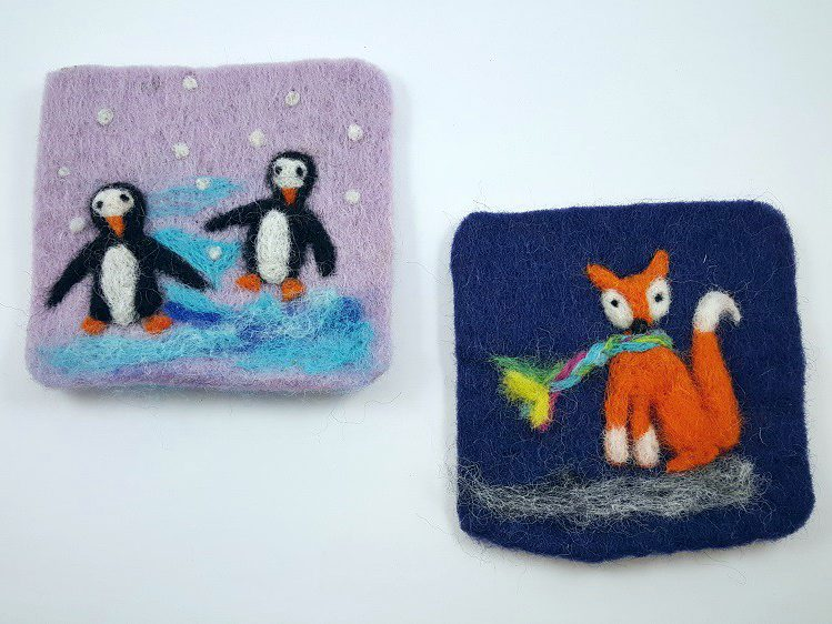 felt winter crafts