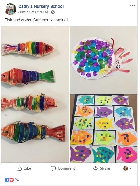wooden fish craft DIY