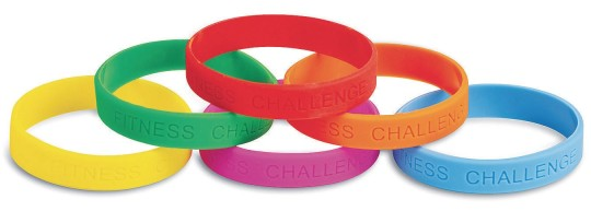 fitness challenge bracelet