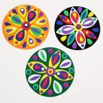 Foam Mosaic Mandalas Craft Kit