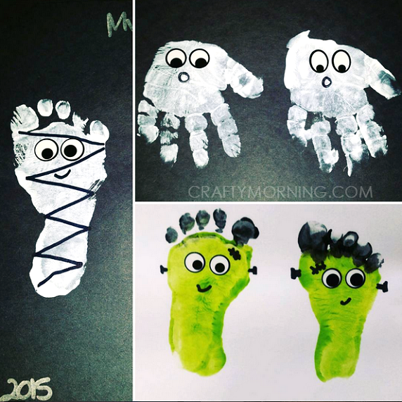 Goblins, Ghoulies and Ghosts: 25 Halloween Craft Ideas that the Kids will Love