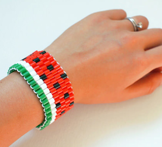 fuse bead bracelet