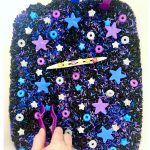 How To Make A Galaxy Themed Sensory Bin