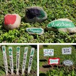 3 Crafty Ways to Label Your Vegetable Garden