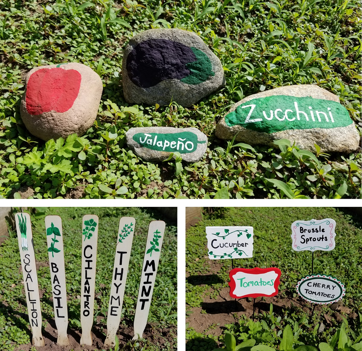 3 Crafty Ways To Label Your Vegetable Garden S S Blog
