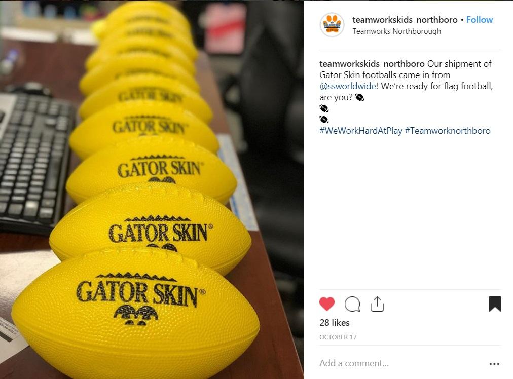 gator skin foam football