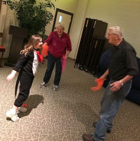 grandparents in PE