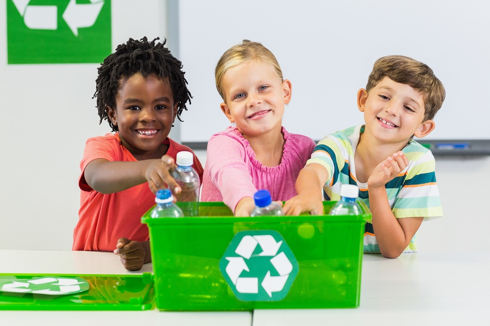 green classroom recycle
