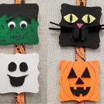 DIY Halloween Wood Plaque Decoration