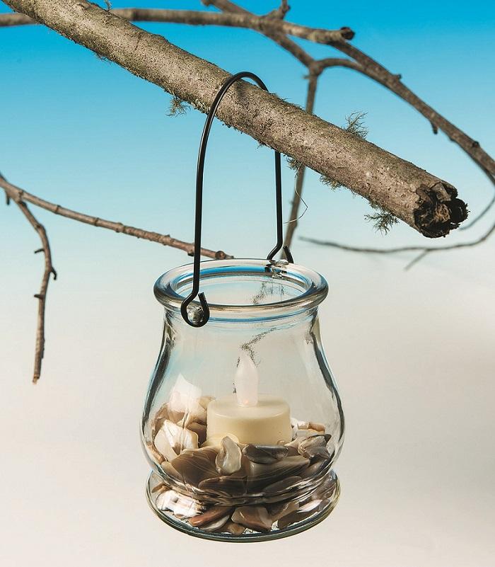 hanging jar for plants