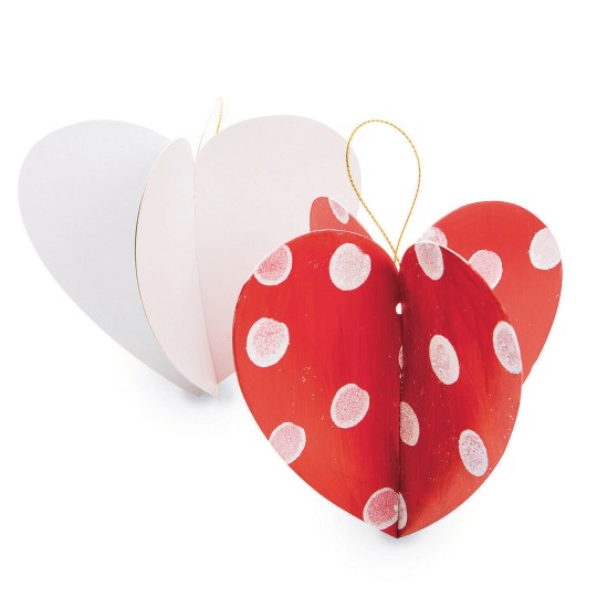 heart ornament craft